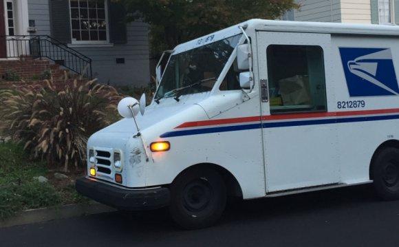 A U.S. Postal Service delivery