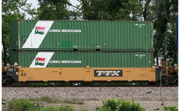 Intermodal Shipping Container
