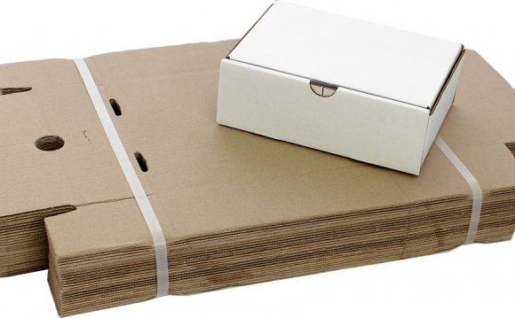 2.6L Small White Mailer Boxes