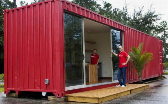 Renting a container home is