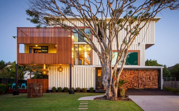 31 Shipping Container Home by