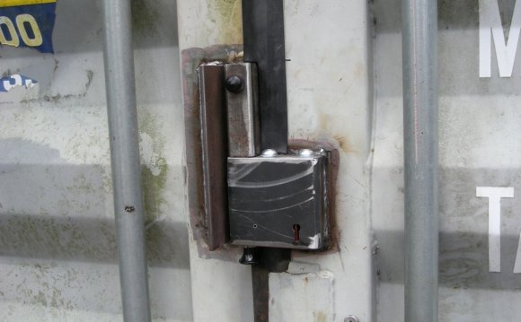 Shipping Container Lock by