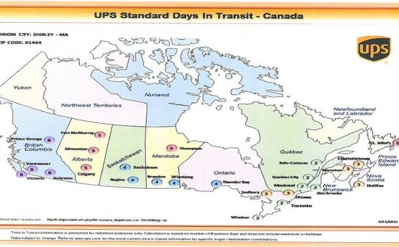 UPS Ground shipping times