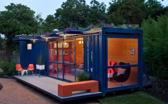 Container Guest House, by Jim
