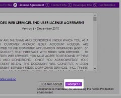 Accept the terms and conditions outlined in the license agreement