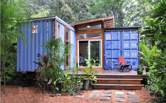 Building shipping container homes