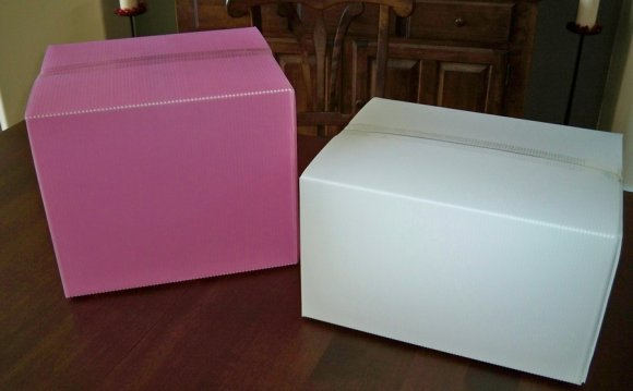 Plastic shipping Boxes