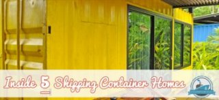 Inside 5 Shipping Container Homes Blog Cover