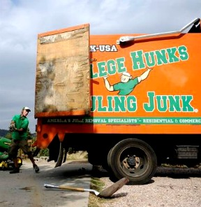 Junk Removal, Appilance Removal, Furniture Removal, Debris Removal | College Hunks Hauling Junk