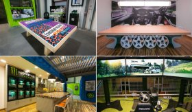 Ken Block's New Headquarters Is A Garage Mahal Made Of Shipping Containers And Hoonage