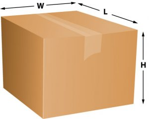 Shipping Package Dimensions