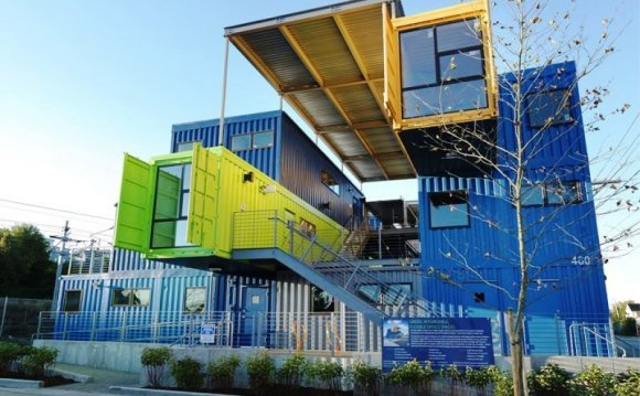 Homes Made from shipping container