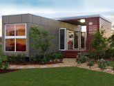 Prefabricated shipping container homes
