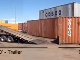 Shipping Container trailer