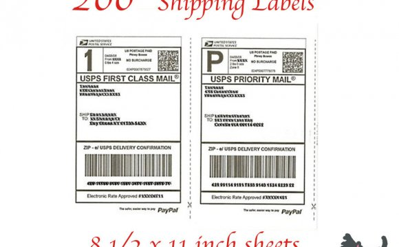 Create Shipping labels