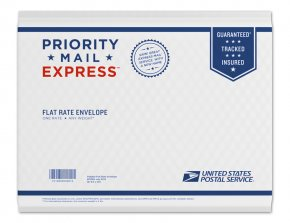 USPS Priority Mail Express envelope
