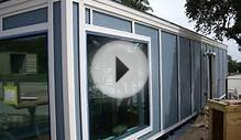 8×40 Shipping Container Tiny Home Built by Students