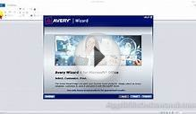 Avery Wizard Lesson 11 - Create a shipping label from a
