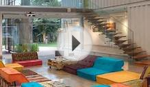 Casa Incubo shipping container home wraps around a giant