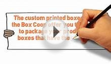 Custom Printed Boxes With Your Design Or Logo - The Box Co-op