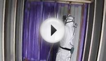 Insulating a Shipping Container with BASF Walltite Spray