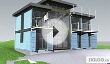 Modular Homes: BC Designers Turn Shipping Containers Into