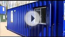 shipping container conversions, storage containers for