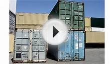 Shipping container for storage units (310) 638-6 used