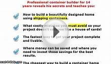 SHIPPING CONTAINER HOME CONSTRUCTION GUIDE REVIEW