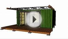 Shipping Container House - 220 Studio Dose - honeybox.ca
