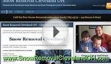 Snow Removal Cleveland - Cleveland Snow Plowing Service