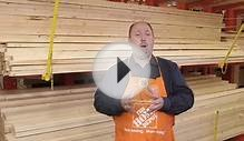 The Home Depot- Framing Lumber Options