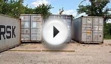 Used Shipping Containers for Sale in Houston - 281-703-5062