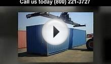 "Used shipping containers price (800) 221-3727 ""used"