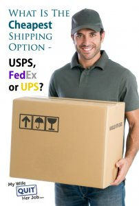 What is the Cheapest Shipping Option USPS, FedEx Or UPS