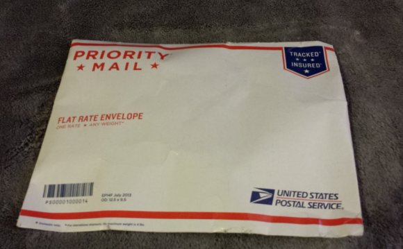 Flat Rate shipping Envelope